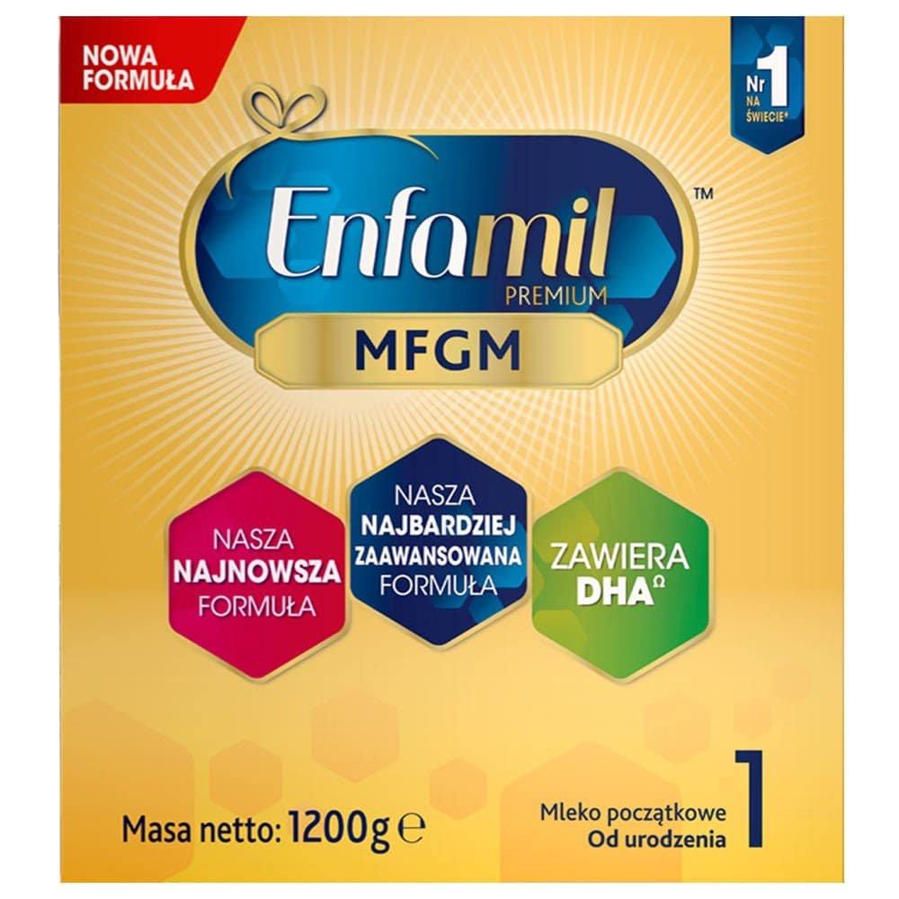 ENFAMIL PREMIUM 1 MFGM MLEKO MODYFIKOWANE