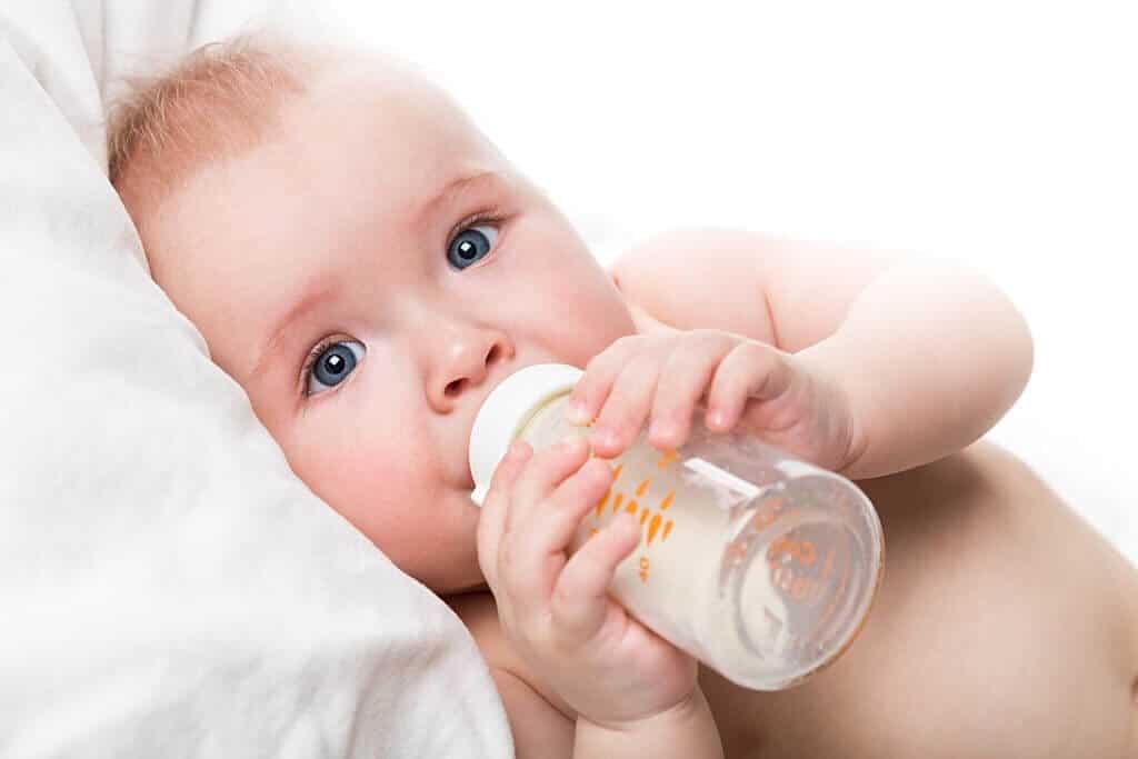 niemowlę i mleko modyfikowane