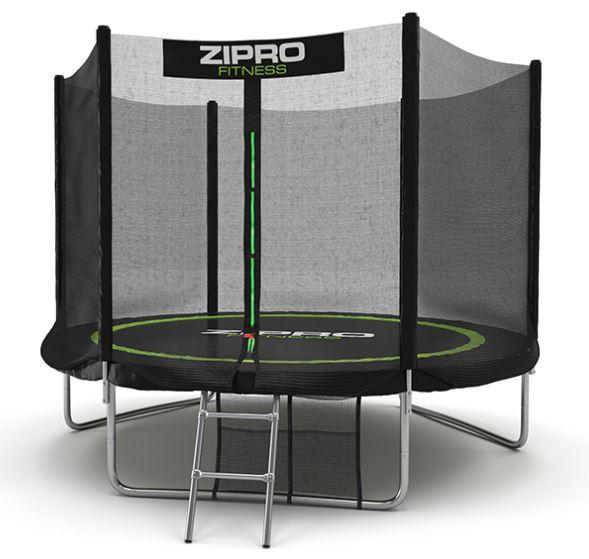 Zipro trampolina ogrodowa z siatką zewnętrzną