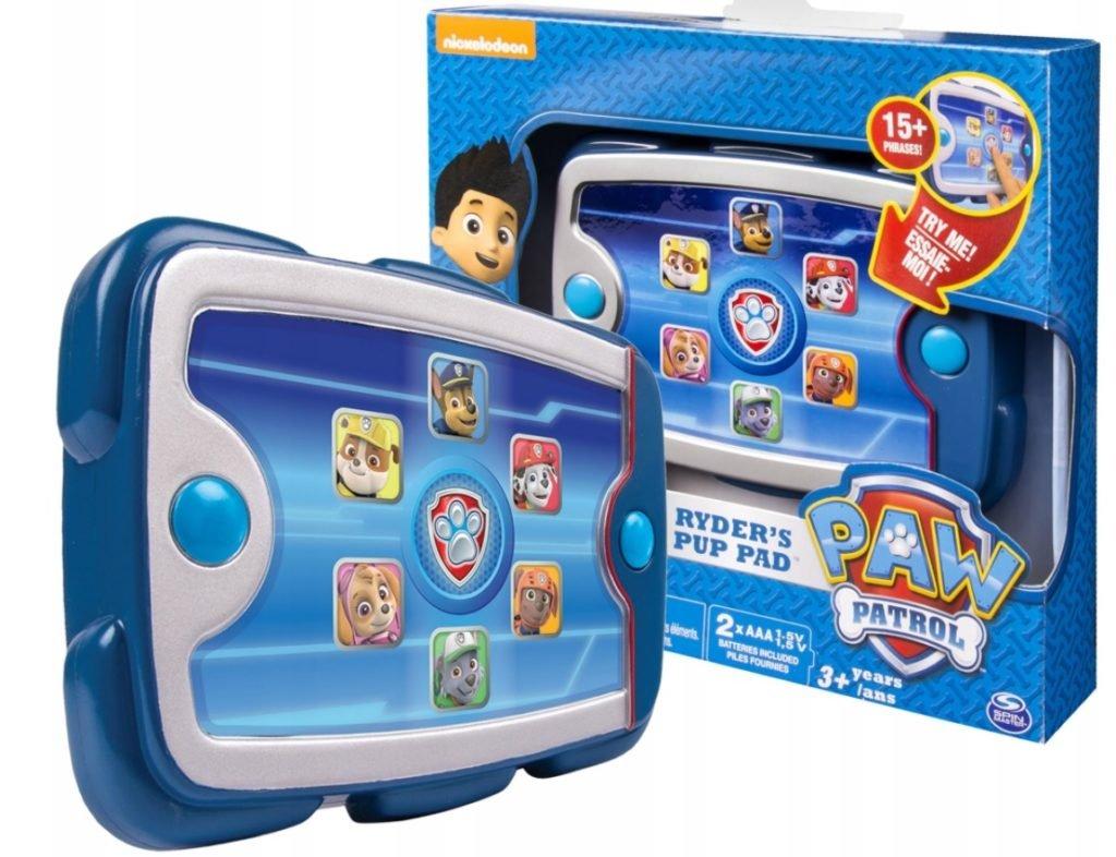 Tablet dla dziecka Rydera Spin Master Psi Patrol