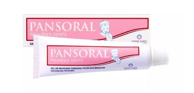 Żel na ząbkowanie Pansoral