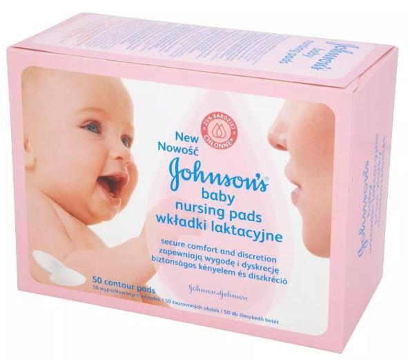 johnsons baby wkładki laktacyjne