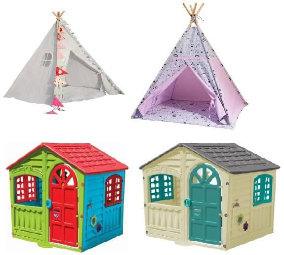 domki i namioty dla 2 latka