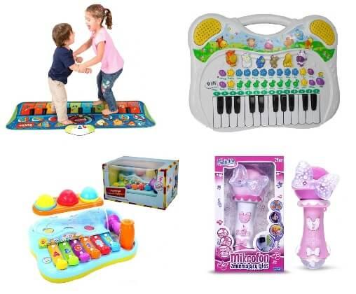 instrumenty muzyczne dla 2 latka