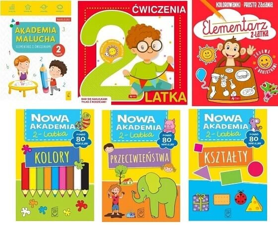 książki dla 2 latka