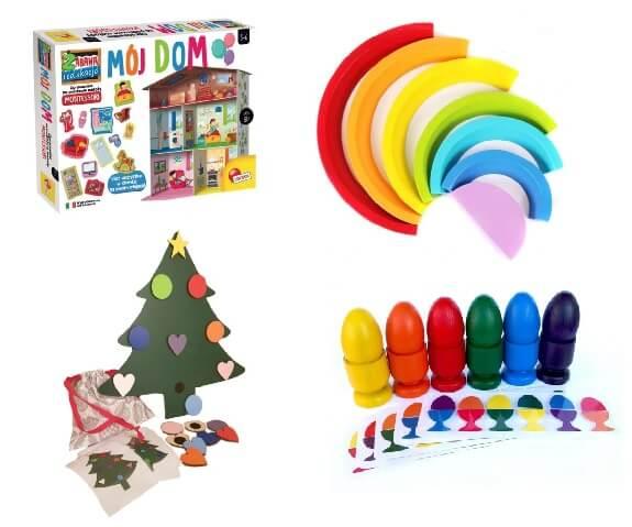 zabawki Montessori dla 2 latka